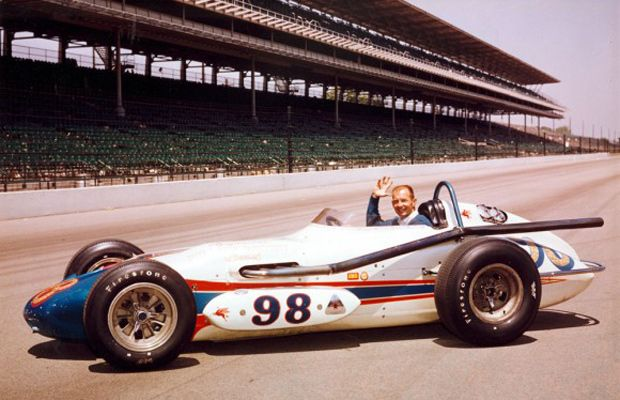Indy 500 winner 1963: Parnelli Jones  Starting Position: 1  Race Time: 3:29:35.400  Chassis/engine: Watson/Offy