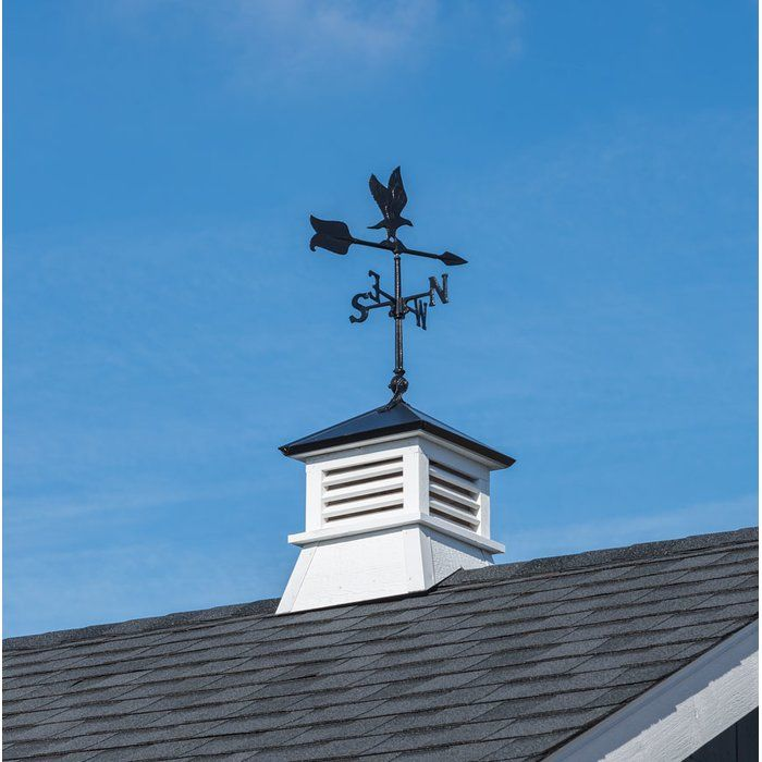 Wood Cupola With Eagle Weathervane Cupolas Copper Roof Weathervanes