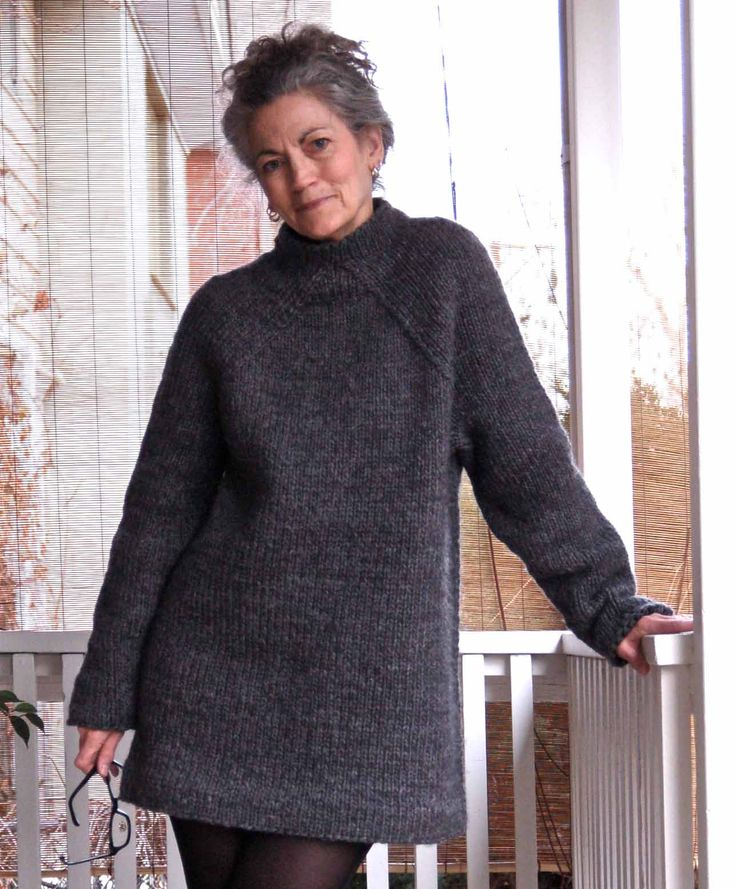 The Hurry-up Last Minute Sweater is done and being cozily worn. As usual, it was fascinating working with EZ 's instructions to get...