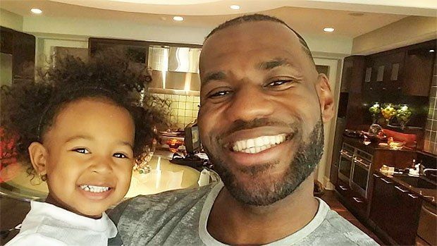 LeBron James Roasts Himself With Hair Remark While Daughter Dunks On Mini-Hoop [WATCH]  ||  Outside of being the best basketball player in the world today, Cavs superstar LeBron James is also a devoted father to his children. https://cavsnation.com/cavs-video-lebron-james-daughter-dunking-small-hoop/?utm_campaign=crowdfire&utm_content=crowdfire&utm_medium=social&utm_source=pinterest