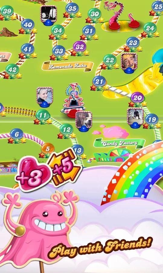 Candy Crush Saga- screenshot