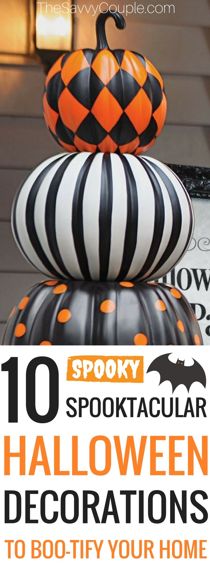 337 best Fall - Halloween crafts images on Pinterest Halloween - halloween decorations diy