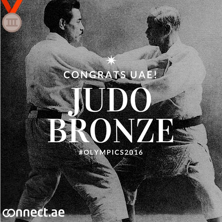 Congrats to our very own #Judoka #SergiuToma who makes the #UAE #Olympics history books with a bronze for UAE's second medal. Toma joins Sheikh Ahmed bin Hasher, who secured gold in the Athens Olympics in 2004. Is your child the next Olympics winner? Book them at a martial arts center this summer and find out: http://connect.ae/search:martial+arts+centers #RioOlympics #Olympics2016 #Judo Photo: Japanese judoka Jigoro Kano(right) and Kyuzo Mifune(left). : Public Domain…