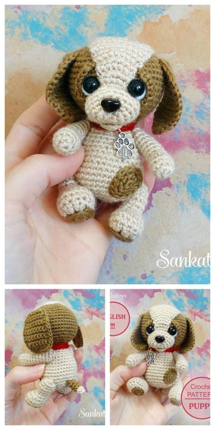 11 Amigurumi Dog Crochet Patterns – Cute Puppies - A More Crafty Life | 1472x736