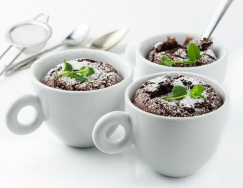 Nutella-Schoko-Tassenkuchen Rezept