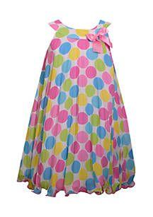 Polka Dot Party Dress Girls 7-16