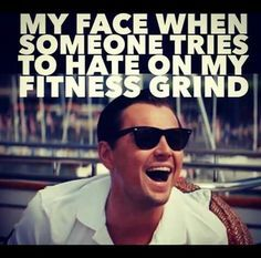 Keep Hatin', Haters.  Imma Keep Crushing it!!  Fitness memes and funny images for people who love the gym and lifting
