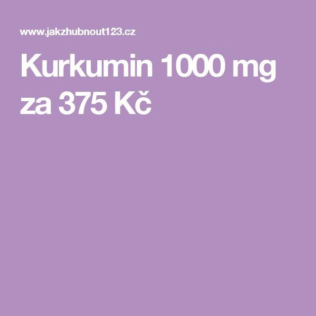 Kurkumin 1000 mg za 375 Kč