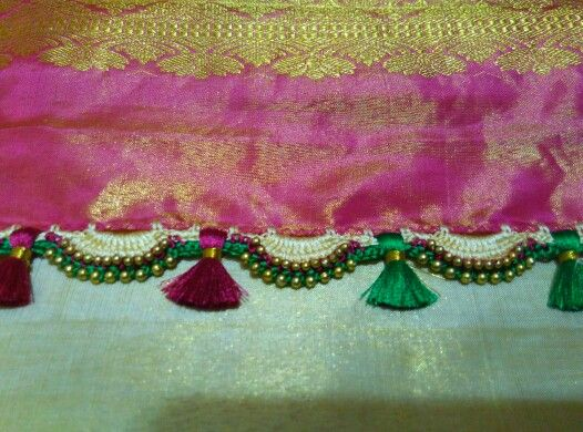 Kuchu for saree my new work
