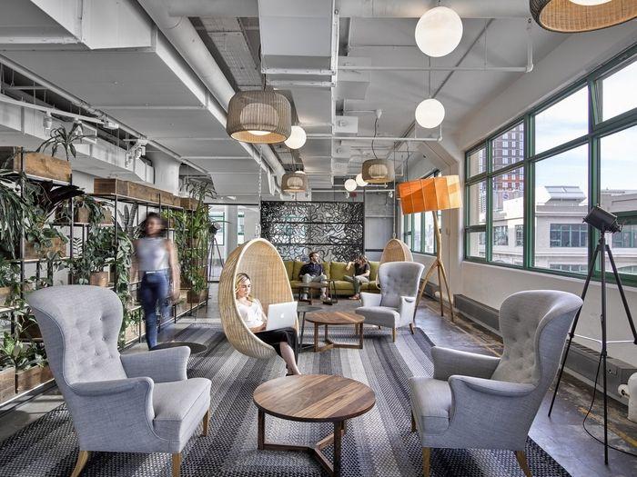 Office Tour Etsy Offices New York City Interior DesignOffice