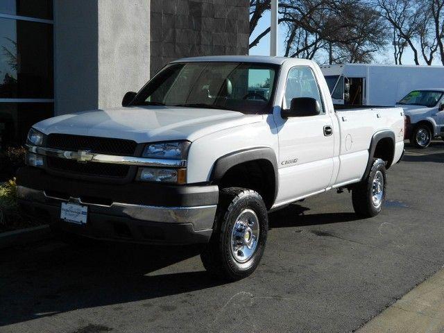 2003 Chevrolet Silverado 2500hd 4x4 5 Speed Manual Transmission Only 68k Miles In Rocklin Califor Chevrolet Silverado 2500hd Chevrolet Silverado Chevrolet