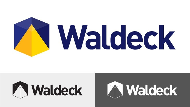 Waldeck logo by POP - www.pop-branding.com
