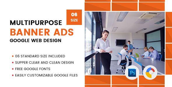 Multi Purpose Banners HTML5 D5 - GWD