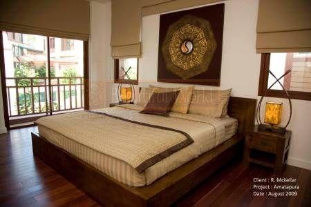 Balinese Interior Design bedroom   Bali-Thai   Furniture and Interior design