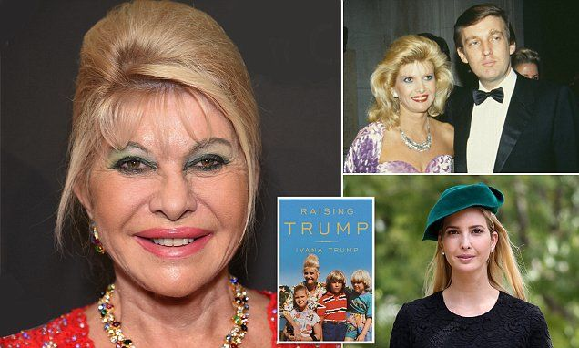 Ivana Trump writes in 'Raising Trump' that she knew her marriage was over soon after a day in December 1989. 'This young blonde woman approached me out of the blue and said 'I'm Marla'