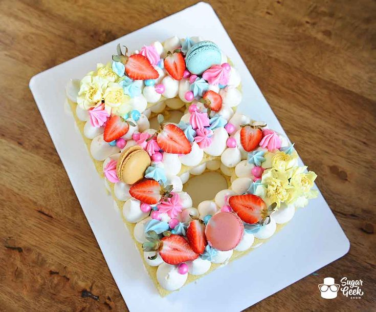 how to make cake bunting