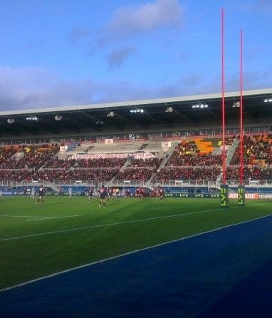 The new Allianz Park stadium in North London, home to Saracens Rugby Club, has raised the bar for audio systems in the world of rugby.