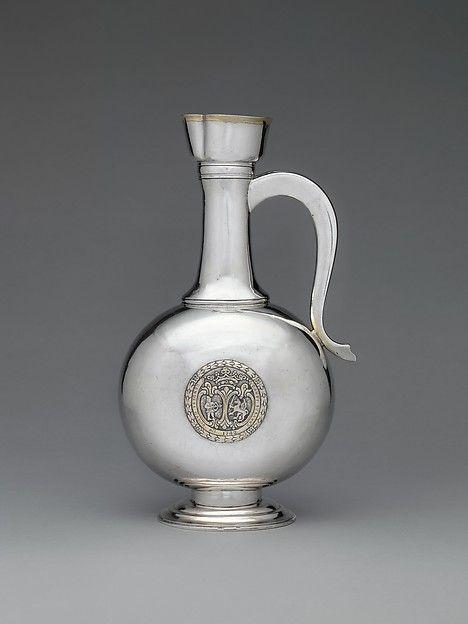 Johannes Szakáll (active 1748–72). Wine jug, 1779. Hungarian, Kolozsvár. The…