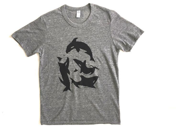 ORCA pod TILIKUM whale TRIBUTE t-shirt by TempleofCairo on Etsy https://www.etsy.com/listing/268984732/orca-pod-tilikum-whale-tribute-t-shirt
