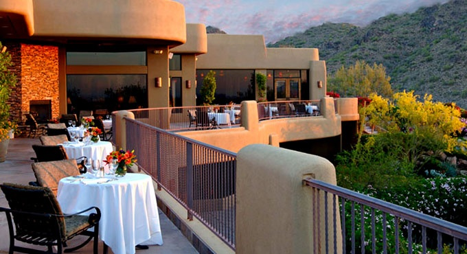 Stunning scenery accompanies each meal at Alchemy Restaurant & Wine Bar. CopperWynd Resort and Club, Fountain Hills, AZ. near Scottsdale