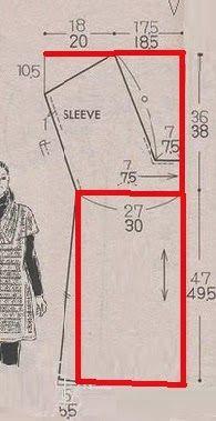 yo elijo coser: Cómo interpretar y dibujar un patrón chino gratuito. Vestido o top muy fácil