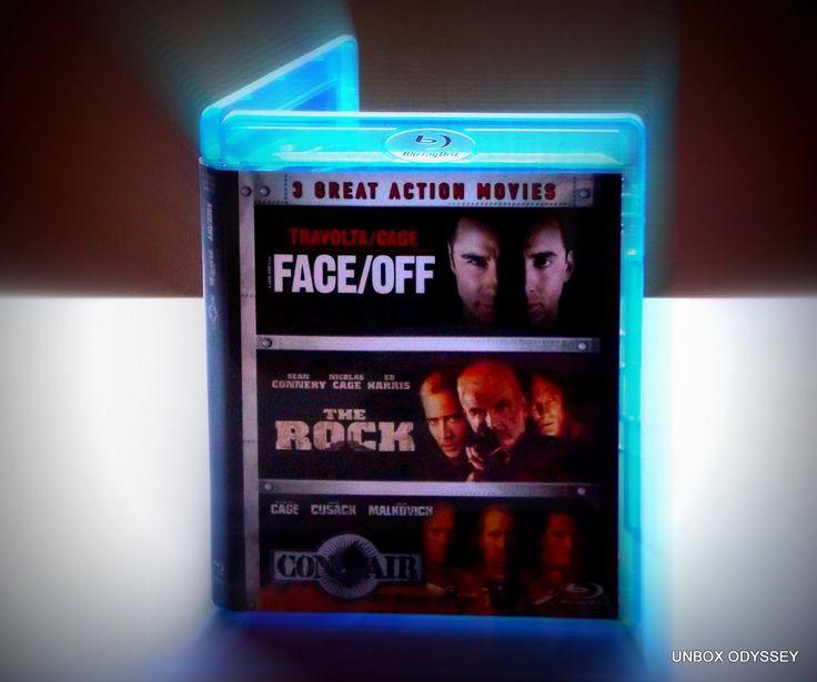Nicolas Cage - Action blu-ray boxset