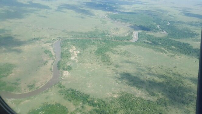Maasai Mara from the air