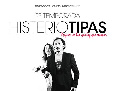 """Check out new work on my @Behance portfolio: """"Poster for Teatre Play """"Histeriotipos"""""""" http://be.net/gallery/45000661/Poster-for-Teatre-Play-Histeriotipos"""