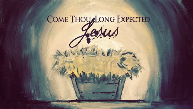 Watch Come Thou Long Expected Jesus. All of creation, all of God's story, all of us, long for Christ's coming. Watch this moving piece that illustrates how all of history culminates in the birth of Jesus.    http://skitguys.com/videos/item/come-thou-long-expected-jesus