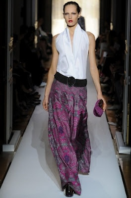 Yves Saint Laurent pink and grey silk pant..love.. :): Laurent Spring, Yves Saint Laurent, Paris Fashion Week, Laurent Elegance, Fashion Styles, Laurent Fashion, Spring 2012, Cj Style Notes, Style Fashion