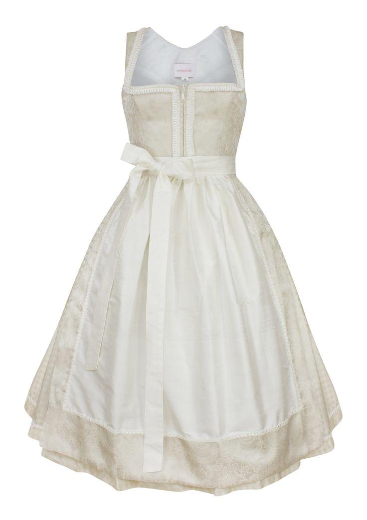 Dirndl Lovely Alice bride cream