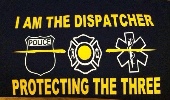 911 Dispatcher Shirt on Etsy, $20.00