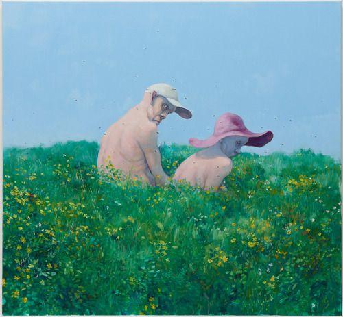 Michael Kvium, Nature piece, 2012, Oil on canvas, 130 x...