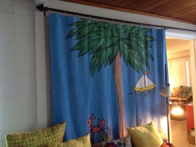 Find Out A New Range Of Hand Painted Curtains With Varieties Of Themes And  Color Options. These Paintings Are 6ft Long And Available Under $100.