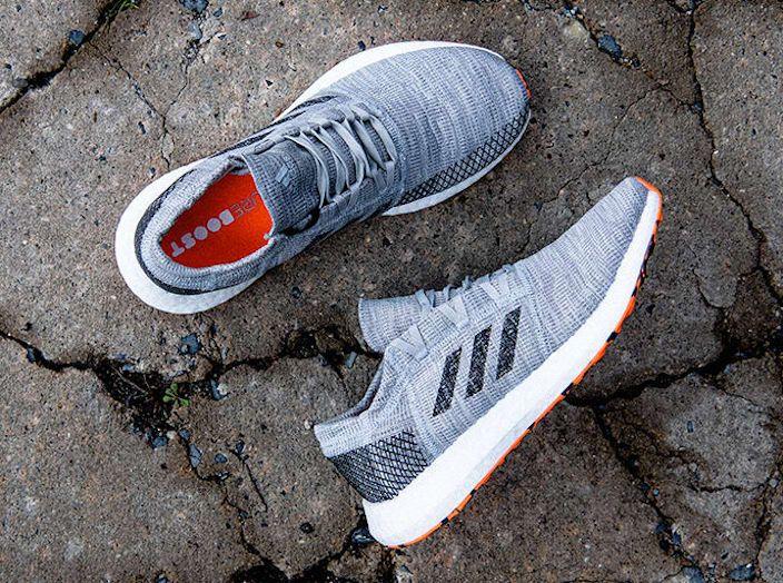 7059c0f967ce3 adidas PureBoost Go Grey