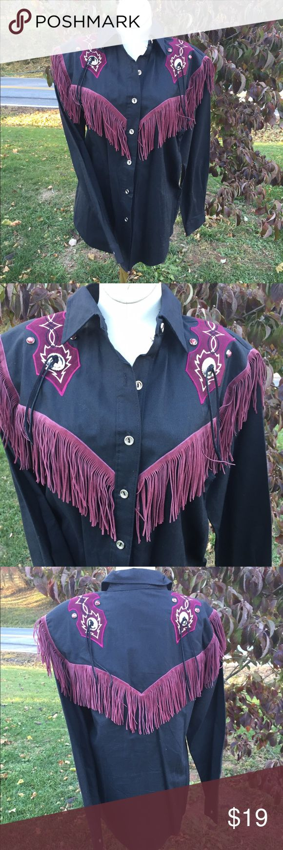 1849 Authentic Ranchwear Western Cowgirl Shirt Size small. Super awesome Western shirt 1849  Tops Button Down Shirts