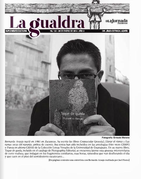 bUNKER 84: Escribir para mí es traducir el mundo a mi manera [entrevista a Bernardo Araujo]