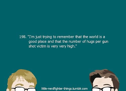 Thank you for the optimism, Hank Green :)