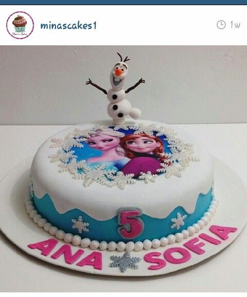 Best 25 Frozen themed birthday cake ideas on Pinterest Elsa