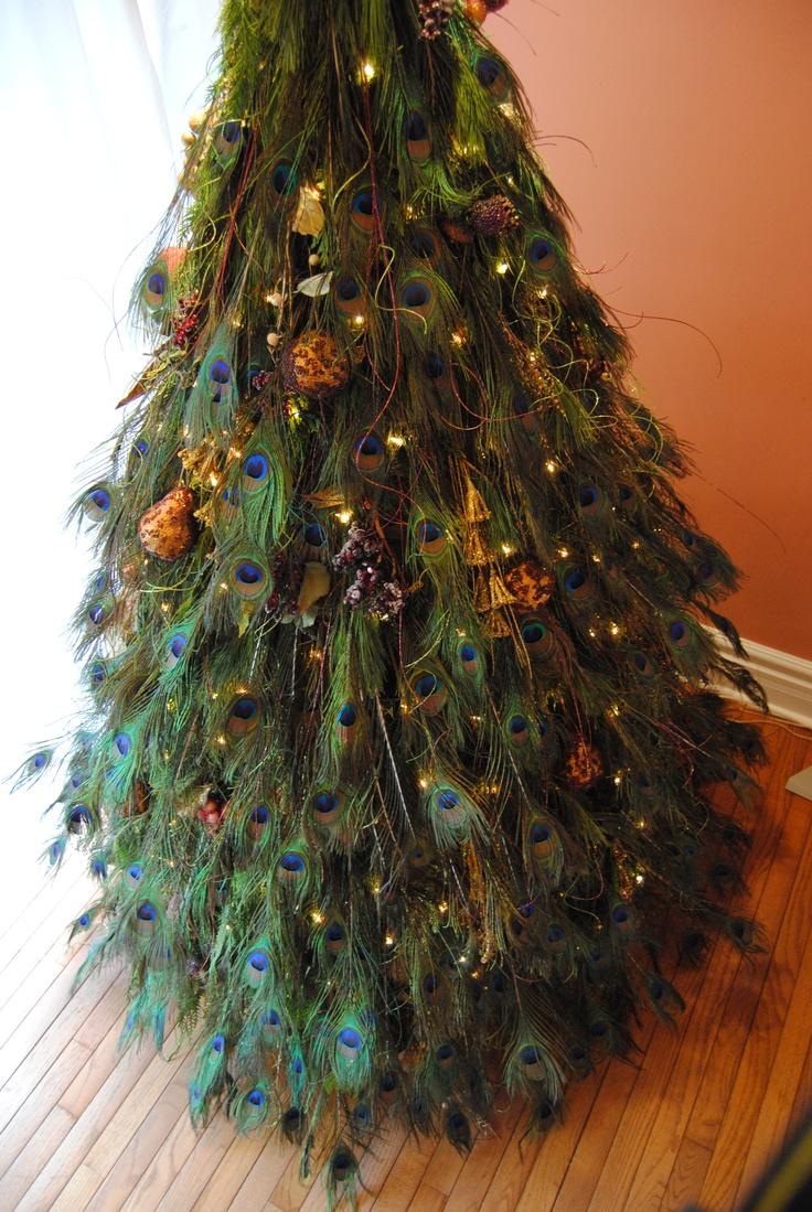 Christmas Tree Feathers