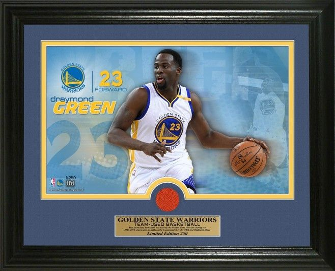 Hot new product: NBA Golden State ... Buy it now! http://www.757sc.com/products/nba-golden-state-warriors-draymond-green-game-used-ball-13x16-photo-mint-le-250?utm_campaign=social_autopilot&utm_source=pin&utm_medium=pin