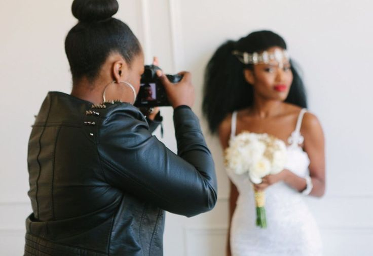 BTS at my latest styled shoot