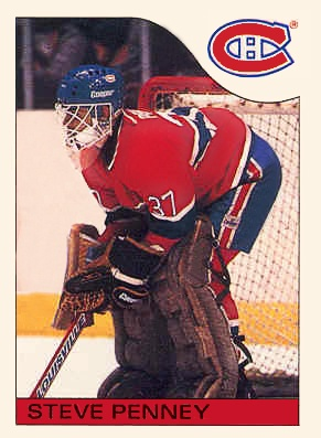 Peu de gens croient aux chances des Canadiens avant les huitièmes de finale qui les oppose aux Bruins. C'était toutefois sans compter sur l'éveil de Penney qui n'a disputé que quatre rencontres en saison régulière et qui est toujours à la recherche d'une première victoire dans la LNH. Penney est sensationnel devant Boston. Il limite les Bruins à deux buts lors des deux premiers duels avant de fermer la porte lors du troisième match à Montréal. Le Canadien atteint les demi-finales cette…