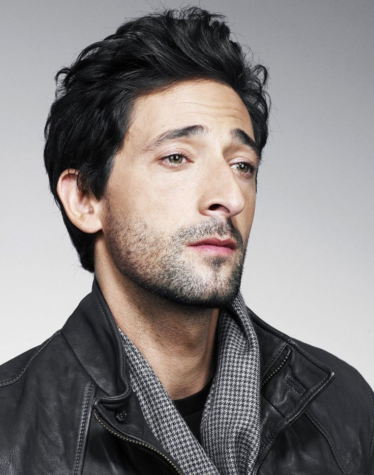 5B.Adrien Brody just something about his eyes. So incredibly good looking and…