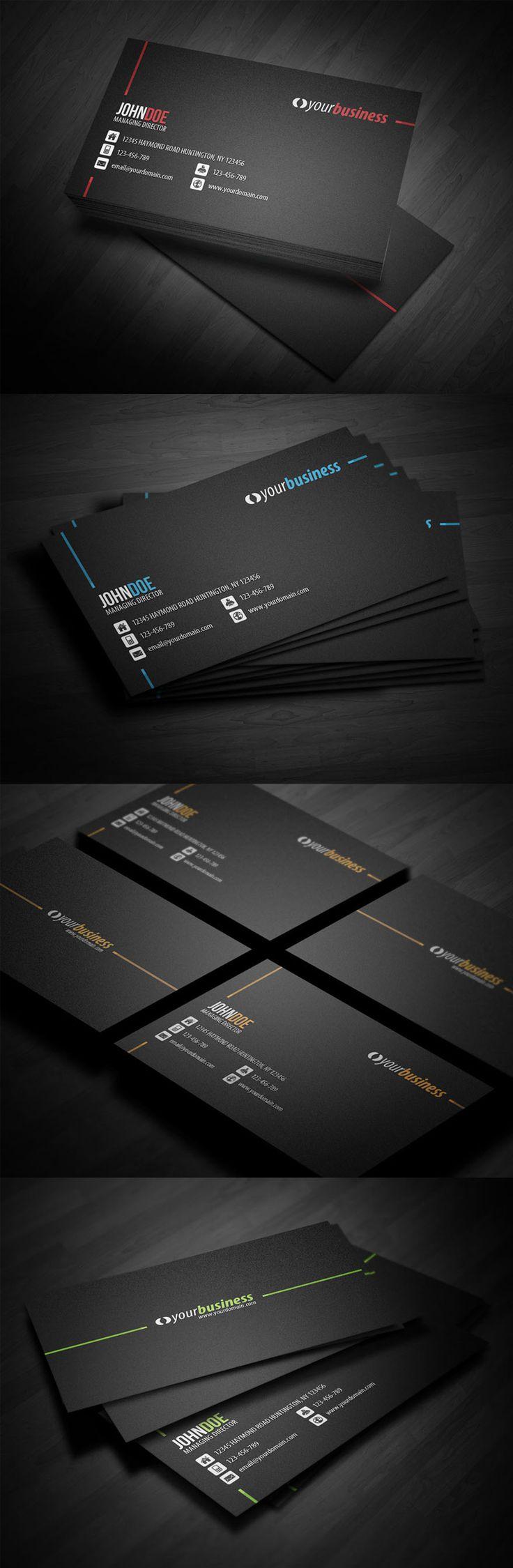 Creative business card design ideas for corporate #BusinessCard #Design