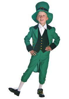 Kid's Leprechaun costume #Green