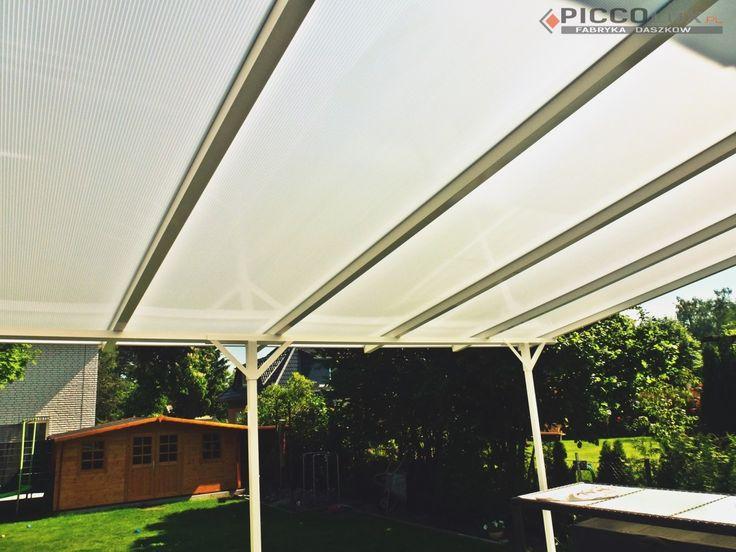 Nasze daszki tarasowe pozwolą Ci na odpoczynek w w Twoim ogrodzie bez zmartwień o intensywne słońce! http://www.piccolux.pl/daszki-tarasowe/