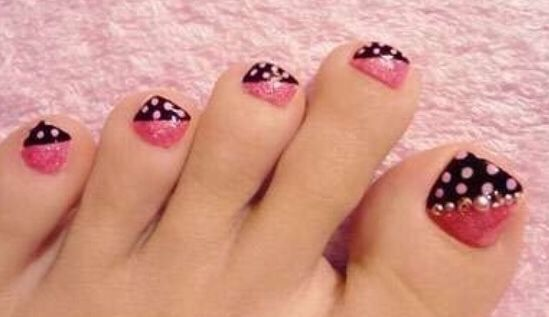 Nails , gelish,uñas de pies