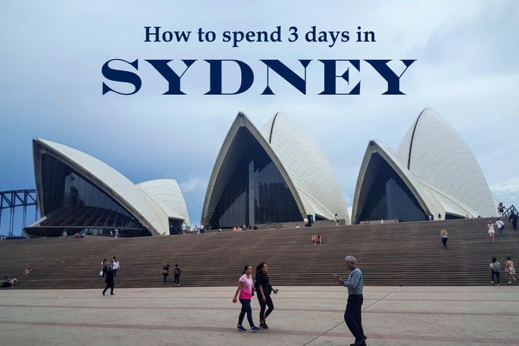 Here's a rough guide to the must dos and sees when you've only got 3 days in Sydney!
