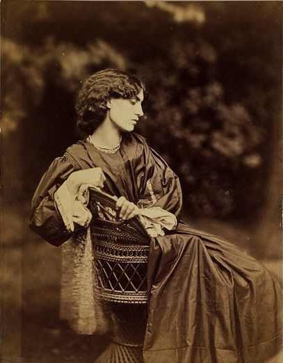 Jane Morris by John Robert Parsons.Another Victorian photographer for me  to obsess over.
